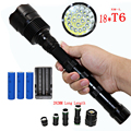 Мощный 18x XM-L T6 светодиодный фонарик 20000LM Ультраяркий тактический фонарь лампа ночник для аварийной ситуации и самообороны