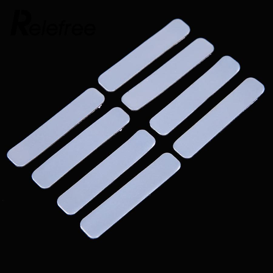 Relefree 8pcs Lead Tapes Add Weight 5.1x1cm Golf Club Accessaries Tennis Iron Putter