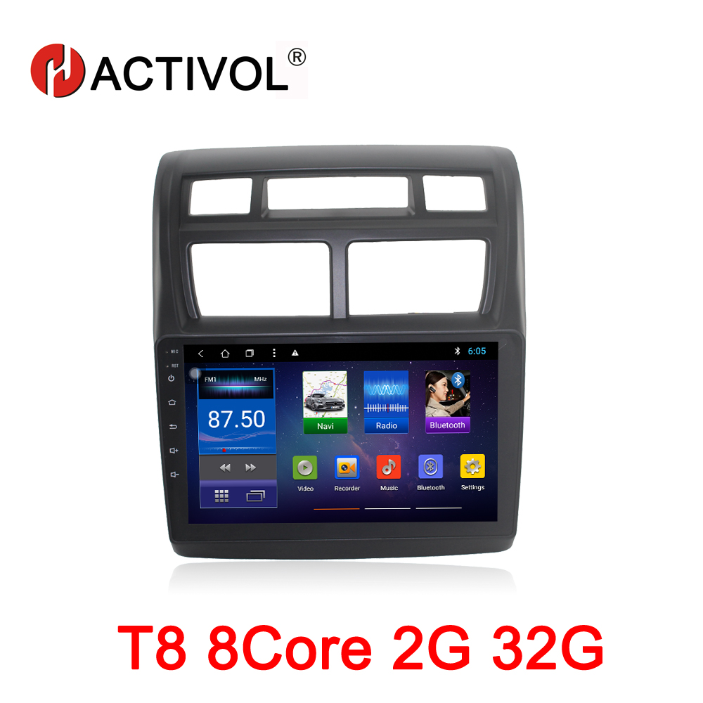HACTIVOL 9 inch Octa 8 Core 2G RAM 32G Car radio for KIA SPORTAGE Android 8