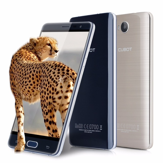 Cubot Cheetah 2 5.5 Inch FHD Screen Smartphone MTK6753 Octa Core Type c2.0 Cell Phone 3GB RAM+32GB ROM Fingerprint Mobile Phone