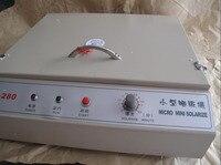 Uv露光ユニット用ホット箔パッド印刷pcb用簡単スクリーン印刷製版ホットスタンピングプレー