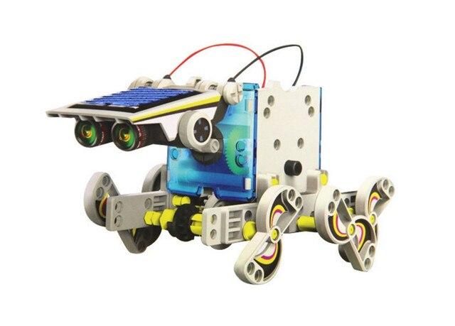 13 In 1 Educational Solar Robot Kit  2