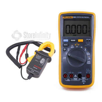 Fluke 18B+ LED AC/DC Voltage Current Digital Multimeter + Transducer AC Current Clamp Meter - DISCOUNT ITEM  0% OFF All Category