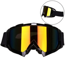 Windproof Motorcycle Goggles Dirt Bike Dustproof Scratch Resistant Ski Protective Safety Glasses