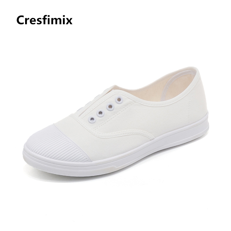 Zapatos De Mujer Women Fashion Classic White Canvas Slip on Flat Shoes Lady Cool Black Canvas Street Shoes Teenager Shoes E2358Zapatos De Mujer Women Fashion Classic White Canvas Slip on Flat Shoes Lady Cool Black Canvas Street Shoes Teenager Shoes E2358