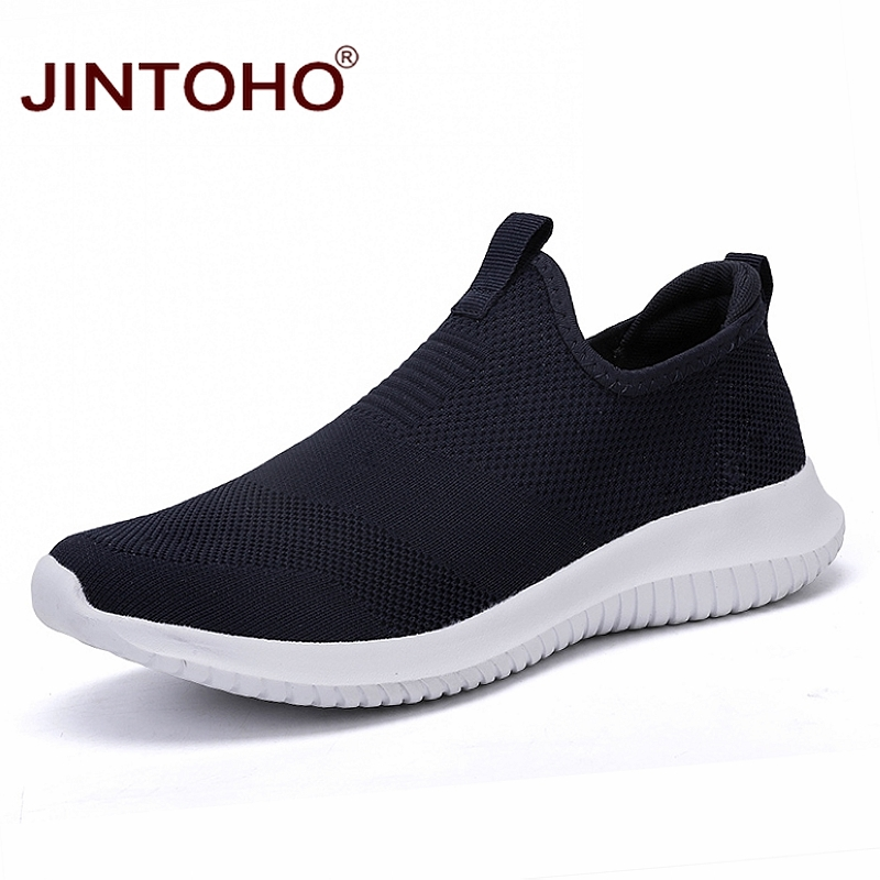 JINTOHO Summer Unisex Sneakers Shoes Slip On Casual Shoes For Men Brand Casual Men Sneakers Cheap Male Sneakers Casual LoafersMens Casual Shoes   -