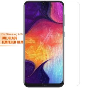 Image 3 - 強化ガラス三星銀河 A10 A20 A20E A30 A50 A70 A01 A51 A71 A6 A8 プラス 2018 スクリーンプロテクターフィルム 9H 保護ガラス