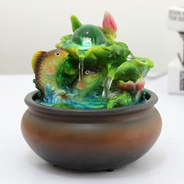 oferta especial simple shui fuente de agua decoracin de la mesa decoracin de la oficina regalos