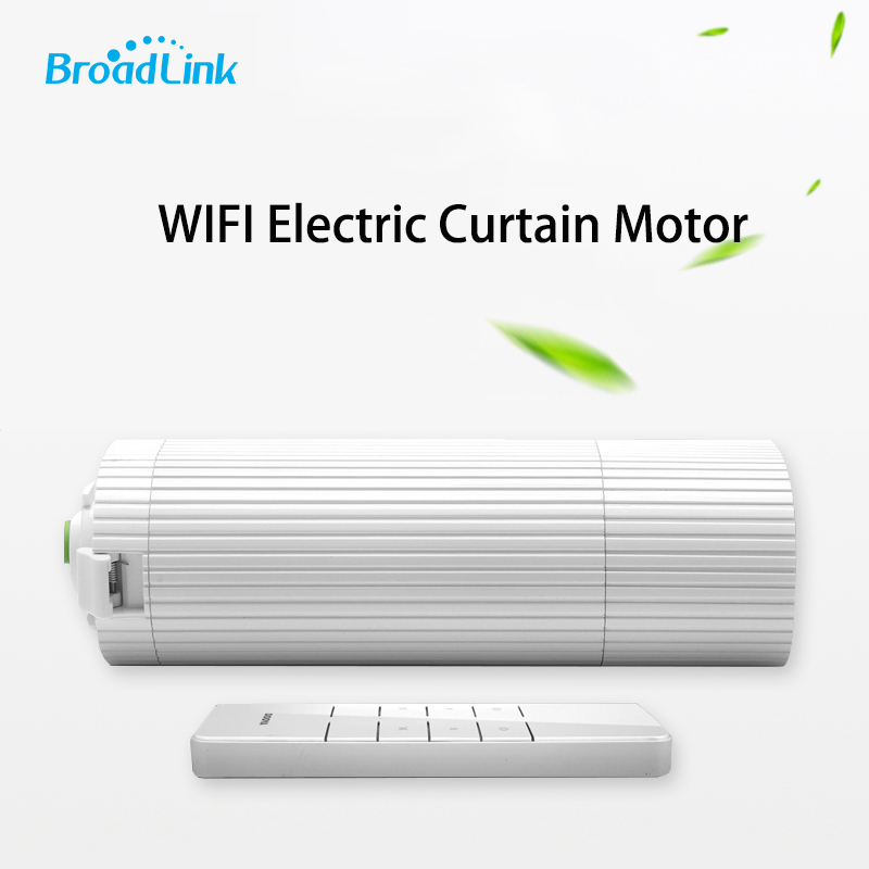 Original Broadlink DNA Dooya DT360E WIFI Electric Curtain Motor Remote Control by IOS Android Smart Home Automation ewelink dooya electric curtain system curtain motor dt52e 45w remote control motorized aluminium curtain rail tracks 1m 6m