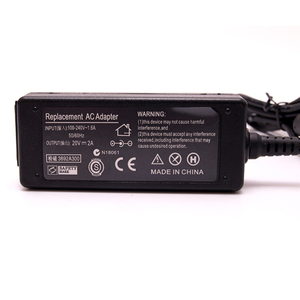 Image 5 - 20 V 2A 40 W Voeding voor Laptop AC Adapter Laptop Oplader Voor Lenovo IdeaPad S9 S10 M9 M10 u260 U310 Power Adapter Notebook