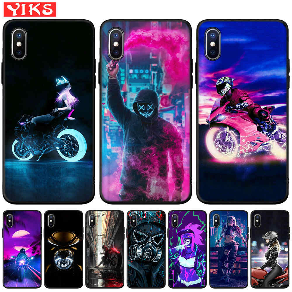 Street Brand Boy Girls Case For iPhone XS Max XR 6s 6 7 8 Plus Phone Case For iPhone X 6 5 S SE Matte Cover Coque Capinhas Etui