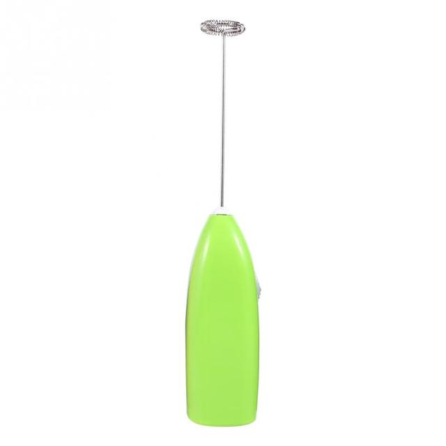 4 Colors Fashionable Hot Drinks Milk Coffee Frother Eggbeater Foamer Electric Mixer Stirrer