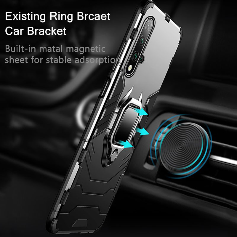 Armor Case For Huawei Mate 30 20 Pro P30 P20 lite P Smart Y5 Y6 Y7 Y9 for Honor 20 Pro 10i 10 lite 8a 8X 9X 3