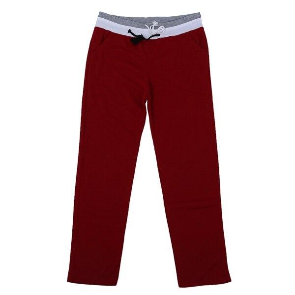 Men Casual Sweat Pants Harem Dance Baggy Full Length Trousers Slacks S-2XL