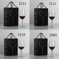 Lead Free Crystal Red Wine Glass High Foot Wine Glass 2 Gift Boxes Gift Manufacturers Custom