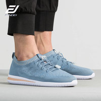 FANDEI NEW TREND running shoes for men breathable flyknit sport shoes men lighted socks sneakers men zapatillas hombre deportiva