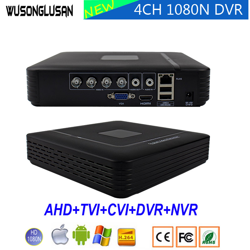 4CH 8CH Mini Hybrid DVR Video Recorder XMeye 4/8 Channel 1080N 5 in 1 AHD TVi CVI IP NVR H.264 P2P Cloud Network CCTV Camera 8channel dvr 1080p hybrid xvr 16ch for ahd h cvi tvi camera p2p ip recorder onvif network cvr mini nvr h 264 for 2mp ip camera
