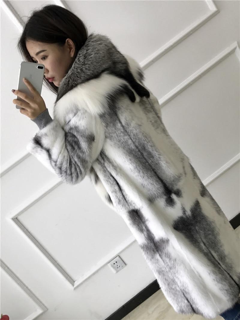 Woman S Real Fur Coat 2016 Winter Mink Coat Long Section