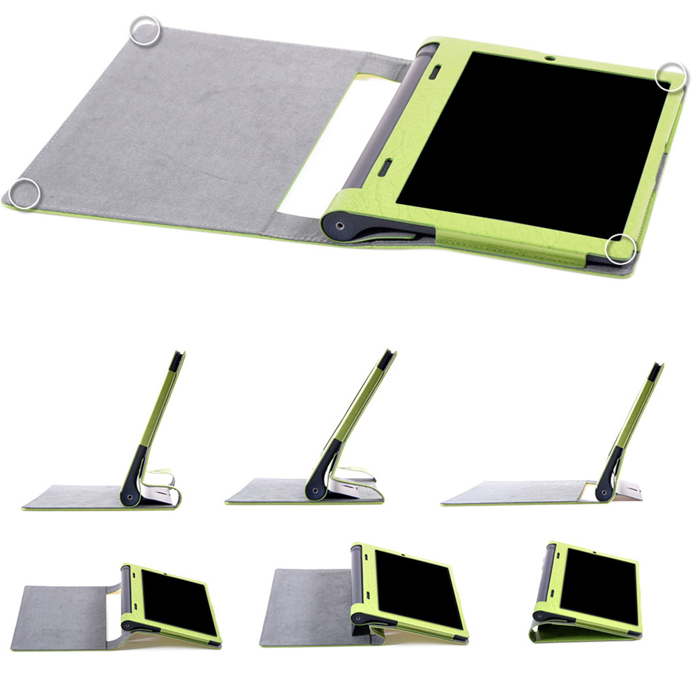 Case for Lenovo YOGA Tablet 3 10 PU Leather Funda for Lenovo YOGA Tab 3 10 YT3-X50 X50F X50M X50L Tablet Case+Touch Pen