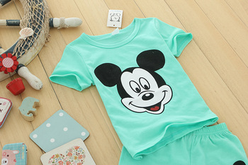 Children's Clothing 2019 Summer New Casual Baby Boy Girl Set 5