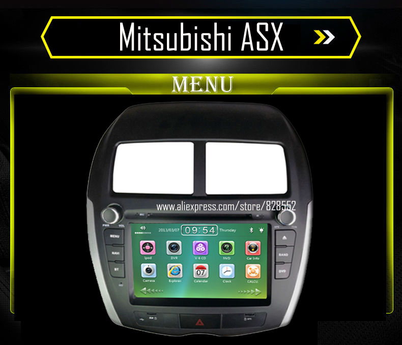 free shipping car dvd player for mitsubishi asx audio. Black Bedroom Furniture Sets. Home Design Ideas