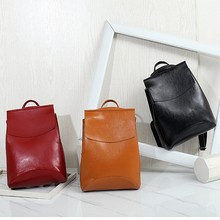 Fashion Women Backpacks Leather Backpacks For Teenage Girls Female School Shoulder Bags Zippers Backpacks