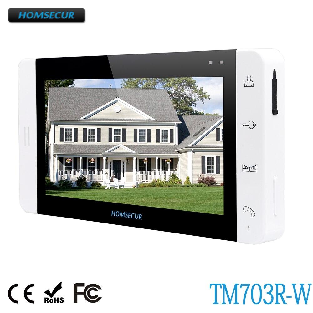 Здесь продается  HOMSECUR TM703R-W Indoor Monitor For HDW Wired Video Door Phone Intercom System  Безопасность и защита