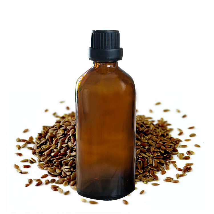 Linseed Oil 100% Pure Plant Base Oil Essential Oils Skin Care Flaxseed Oil 100ml Anti-inflammatory J21