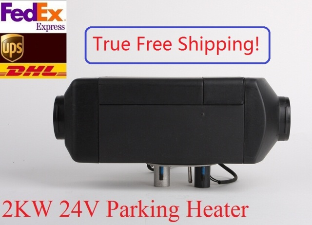 Free Shipping 2KW 24V Air Parking Heater For Diesel Truck Boat Van & RV Similar With Snugger Webasto Diesel Heater Made in China