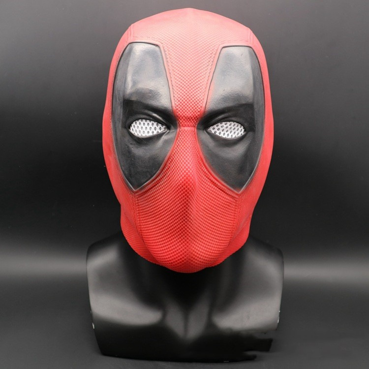 Halloween Cosplay Dead Waiter Deadpool 2 Latex Mask Costume Party Entertainment Cool Play Prop Drop Ship