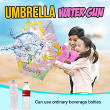 Water Gun With Umbrella Shield Toys Children Summer Outdoor Beach Bathing Rafting Playing Gift For
