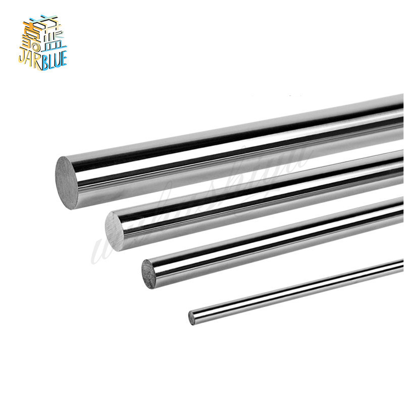 3D Printer Parts CNC Diameter <font><b>8mm</b></font> Chromed stainless steel Smooth Shaft <font><b>Rod</b></font> Optical Axis Multiple Length Option 200 mm 300 500 mm image