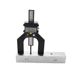 Digital Depth Gauge Tread Depth Gauge tester measure tool LCD Magnetic Self Standing Aperture 80mm Hand Routers