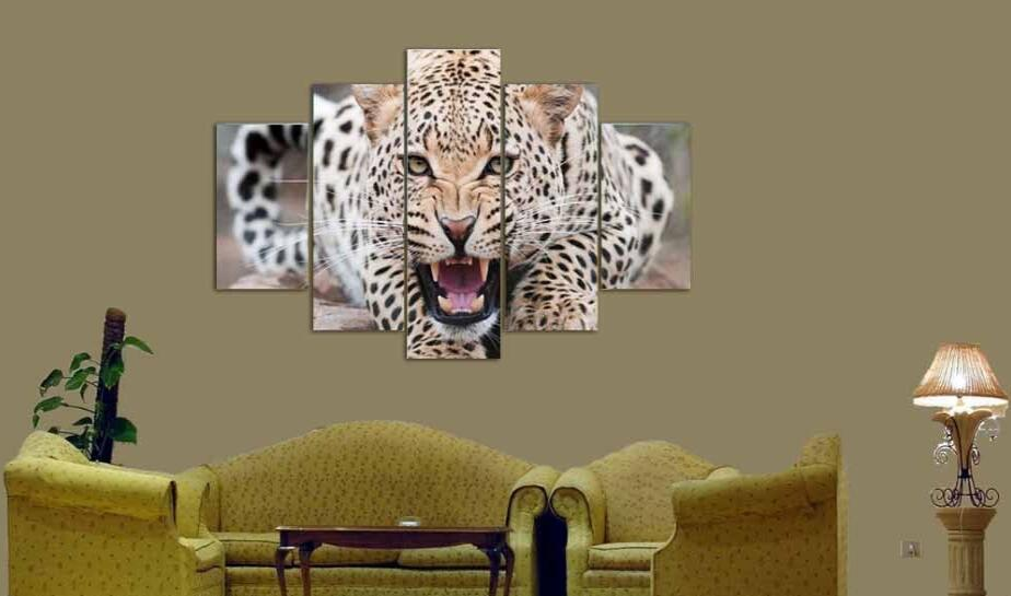 Leopard Wall Decor compare prices on leopard wall art- online shopping/buy low price
