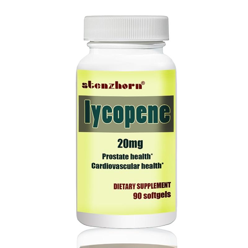 Bad & Dusche Schönheit & Gesundheit Lycopin 20 Mg 90 Stücke Fördert Prostata Und Herz-kreislauf Gesundheit *