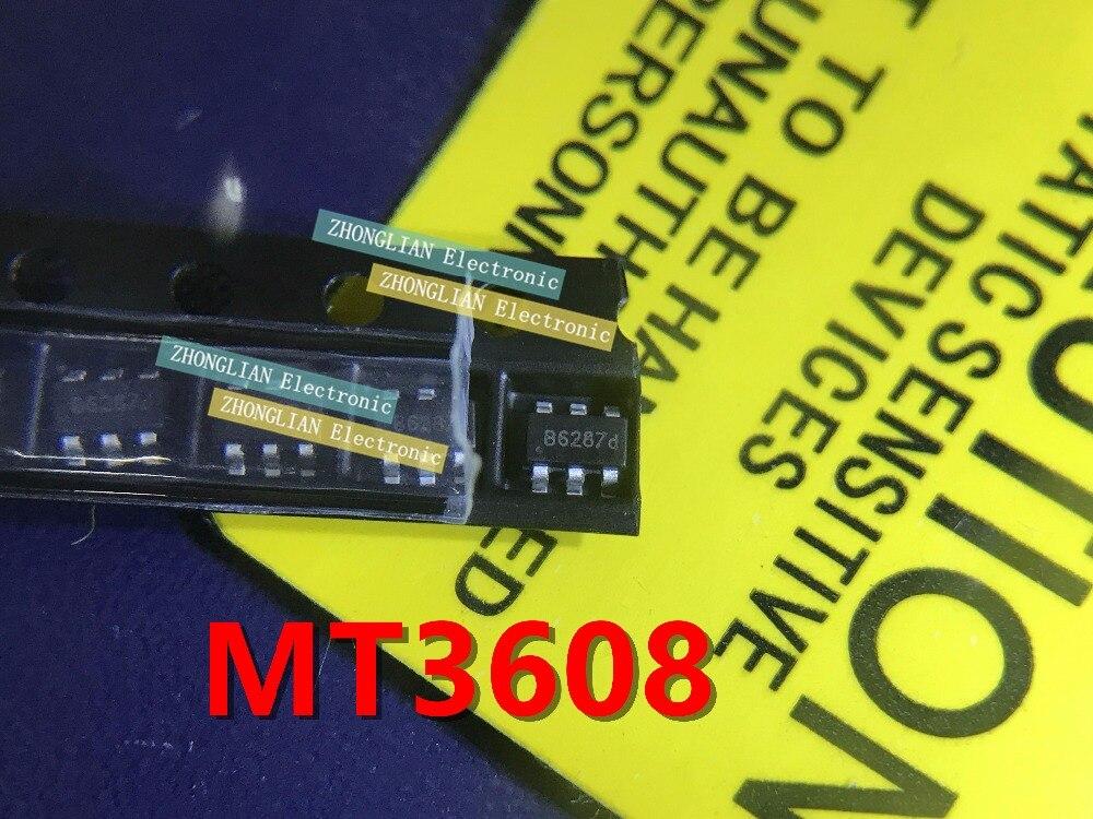 Free Shipping 1000pcs lot MT3608 B628 SOT23 6 New original spot