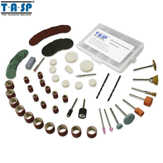 Набор аксессуаров TASP MMD001A8 для мини дрелей 105 шт