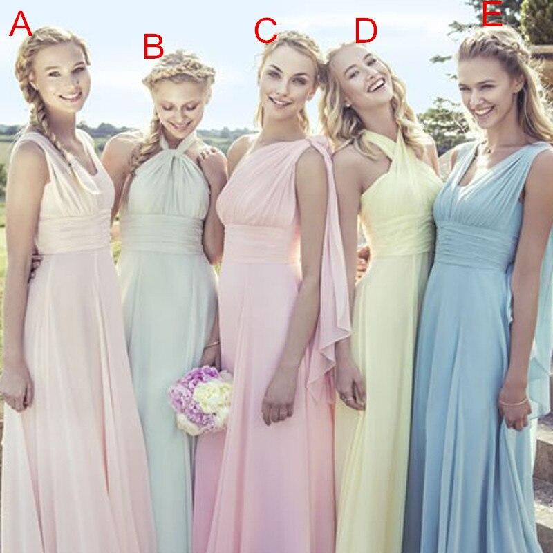 Beach Formal Dresses Pastel