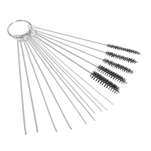10PCS Cleaning Needles+5x Brushes Carburetor Carbon Dirt Jet Remove Tool Kit For Auto Motocycle ATV Accessories