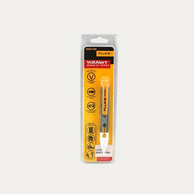 משלוח חינם פלוק 2AC וולט התראה ללא מגע מתח VoltAlert גלאי עט 200 1000V בודק מקל עט