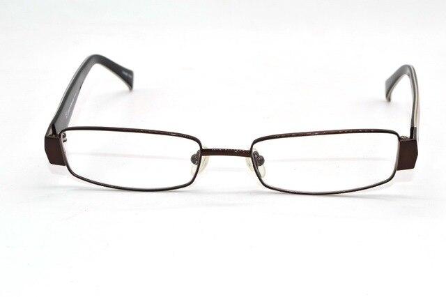 Толстые Края коричневый ширина сплава очки кадр Безопасный и удобный Пользовательский Рецепту близорукость очки Photochrmic-1-8