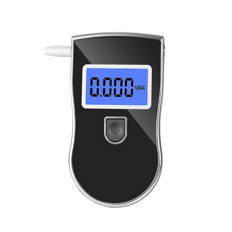 Alcohol Breathalyser Portable Breath Tester Accurate Digital Display LCD Light Convenient Lightweight Portable Driving Accessory in Alcohol Tester from Automobiles Motorcycles