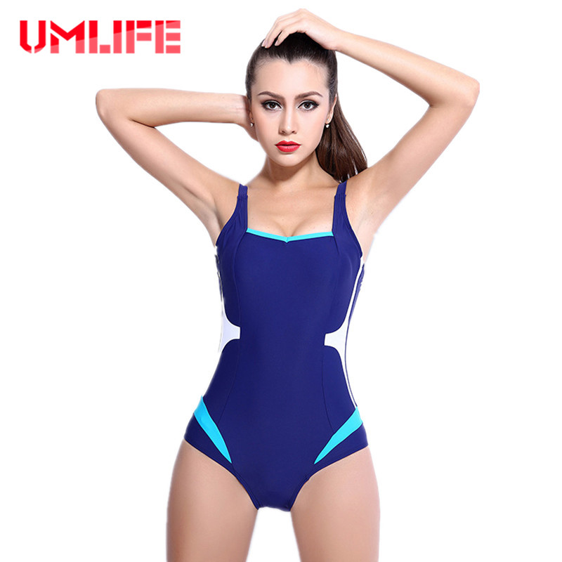Plus Size One Piece Swimsuit Bikinis Sexy Women Professional Swimwear Bodysuit Pool Training Bathing Suit Push Up Beachwear plus size scalloped backless one piece swimsuit