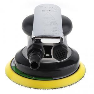 Image 3 - 5 Polegada impulso matte superfície circular pneumática lixa aleatória orbital lixadeira de ar polido máquina moagem mão ferramentas elétricas