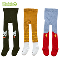 3Pair/lot Infants Clothing Kids Toddler Tights Kawaii Boys Girls Tights Pantyhose Soft Cotton Baby Children Stocking For 0-3 Y