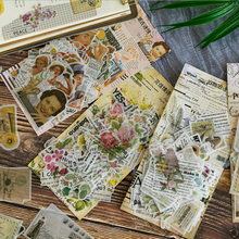 60Pcs/lot Ancient English Love Poetry Series Sticker Decoration diy Scrapbook Notebook Album Kawaii  Stationery