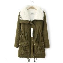 2015 Winter Women coat Thicken Warm Turn Down Collar  Women Jacket  Coat Fashion new Jackets doudoune femme  JT350