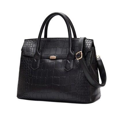 Fashion Top big Handle Bags Luxury Crocodile Pattern Women's Messenger Bags Designer High Quality Leather Handbag Office Clutch