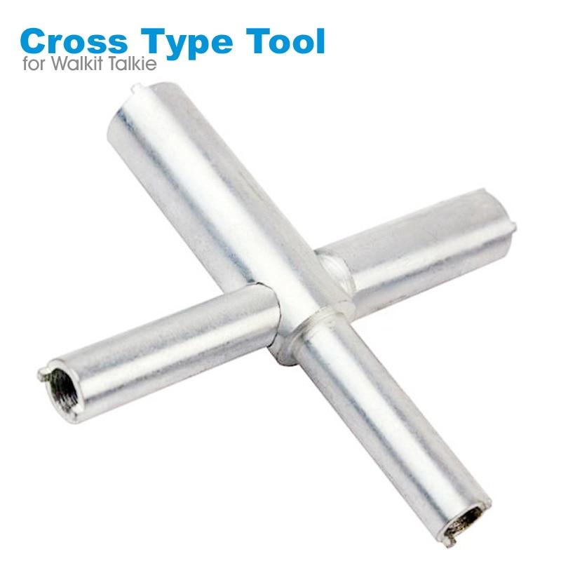 Walkie Talkie Cross Type X Key Repair Maintenance Tools Remove Antenna Base For BAOFENG UV-5R 888S MOTOROLA GP338 WOUXUN HYT TYT