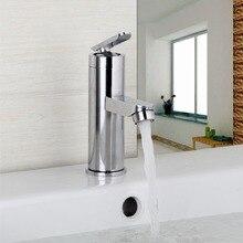 Превосходное качество и разумно в цене кухонный кран хром полированный бассейна кран горячей и холодной воды Поворотный Смеситель